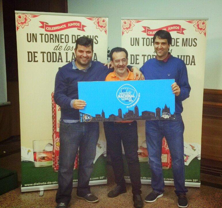 Fico Pérez Pérez y Alejandro Guzmán González, Cuartos del II Torneo Premaster Provincial de Ourense