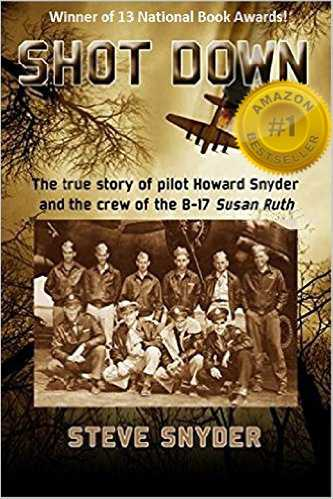 "Steve Snyder #author of ""SHOT DOWN: The true story of pilot Howard Snyder and the crew of the B-17 Susan Ruth"" http://www.independentauthornetwork.com/steve-snyder.html … >Multi Award Winning Nonfiction @ShotDownB17 #ian1 #history #WW2"