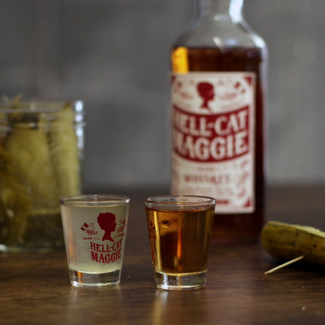 Some say I inspired the early #pickleback by keeping my enemies' ears in jars. #hellcatmaggie #whiskey https://t.co/QXqecpeSc2