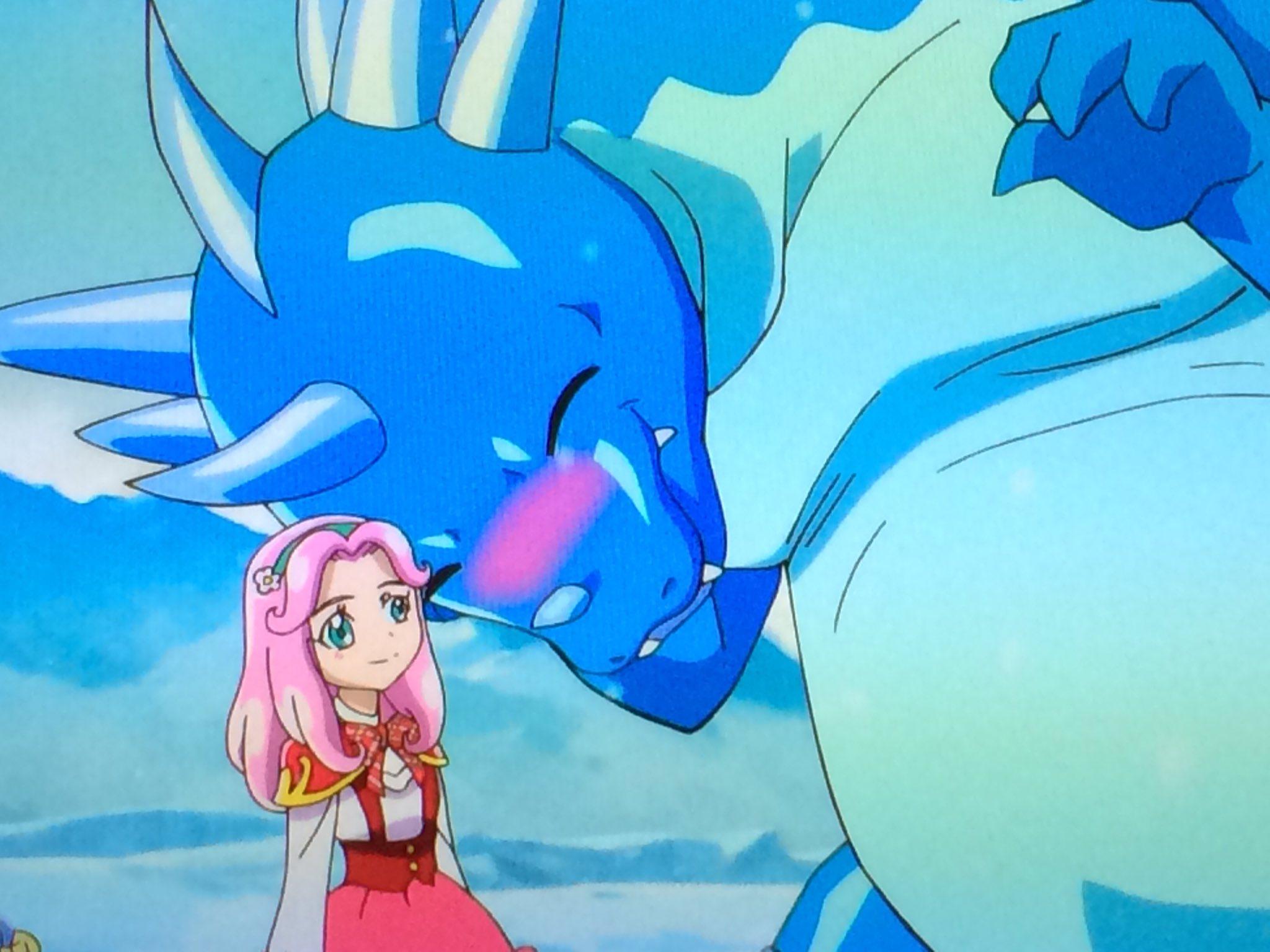 「アイスドラゴンは恋をしたのです」  ぉ、ぉぅ… #precure #魔法つかいプリキュア https://t.co/yMHycZ6Rca
