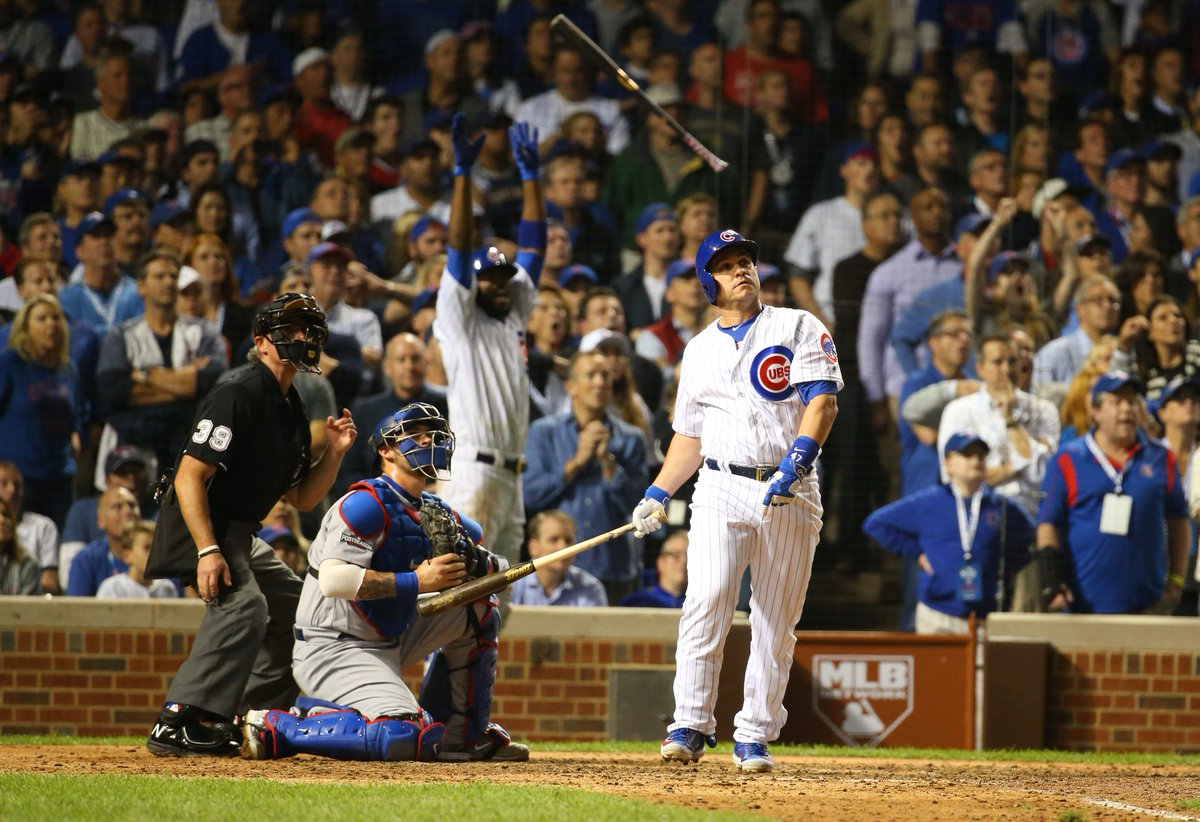 CUBBIES WIN #FlyTheW Chicago takes Game 1 at home #NLCS