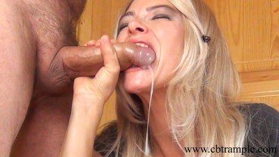 Asian mistress gives her slave a rough blowjob  XVIDEOSCOM