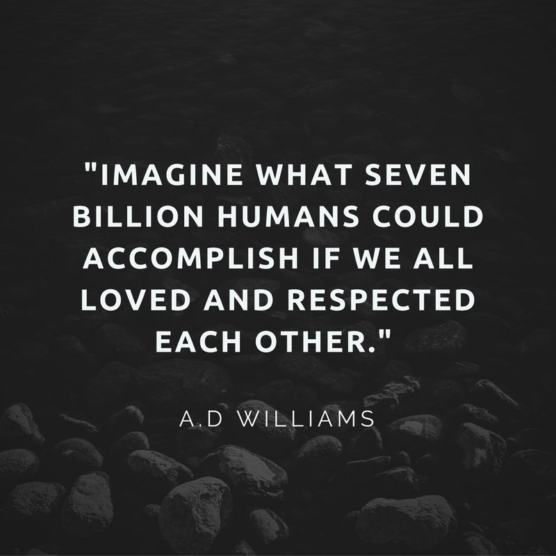 Imagine What 7 Billion Humans Could Accomplish If...  10MillionMiler #quote #inspiration #love RT expyourmind https://t.co/c6f0LVQsTU RT 1…