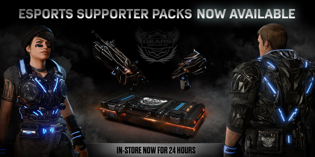 gears of war esports on twitter the gears esports supporter pack