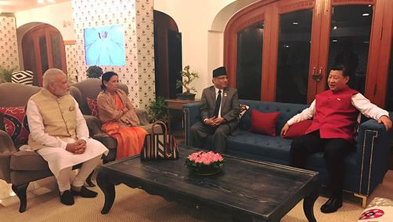 Trilateral meeting with Modi and Jinping was pleasant surprise: Prachanda