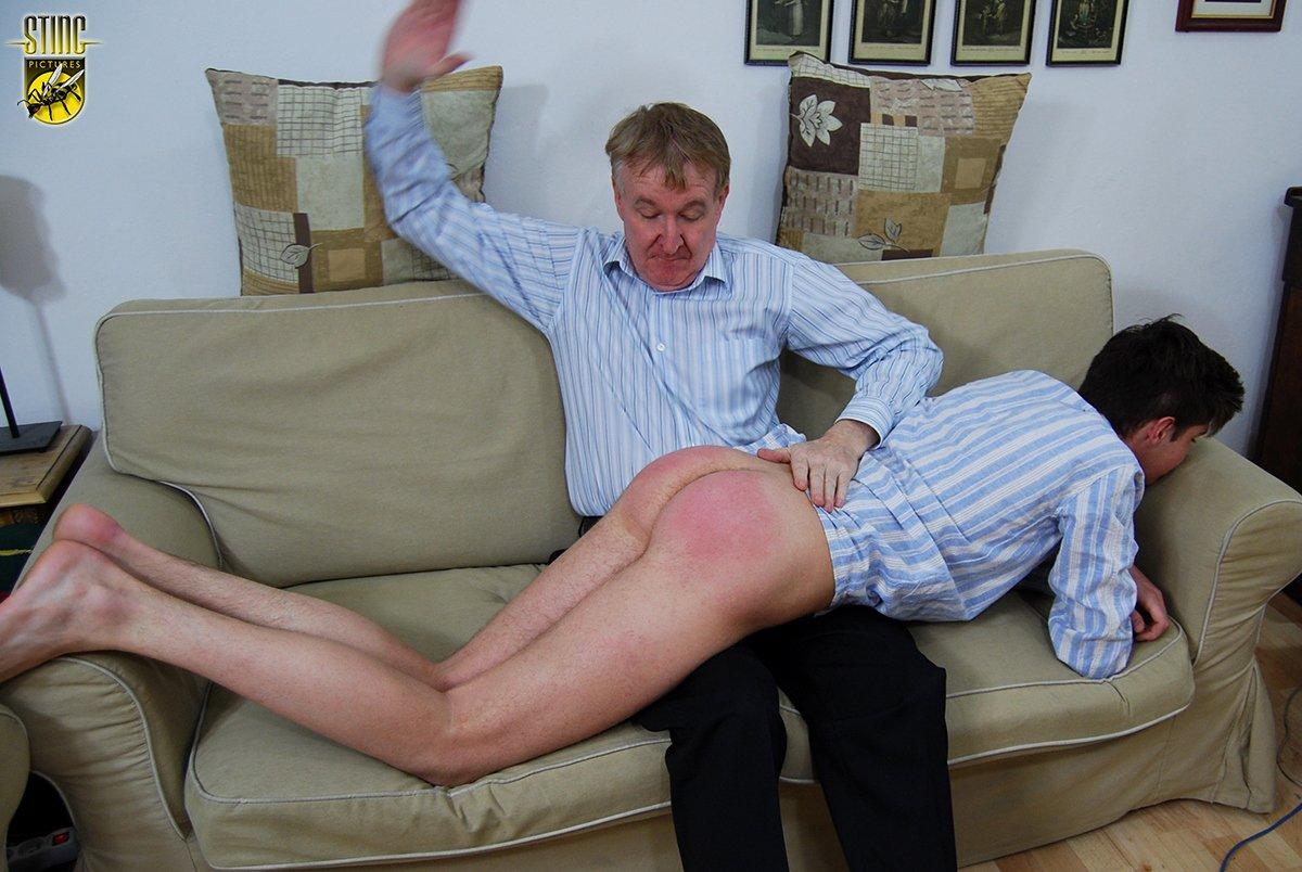 Man man spank sorry