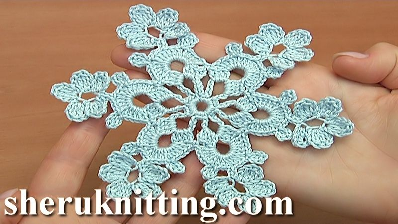 Awesome Simple Crochet Snowflake Pattern Photo Sewing Pattern
