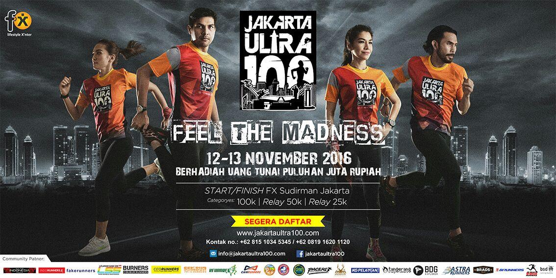 Jakarta Ultra 100 2016