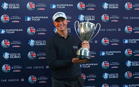 Alex Noren clinches a victory win at British Masters 2016 Golf af The Watford Grove