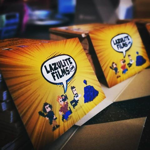 Lazulite Films On Twitter Brand New Business Cards For The Team