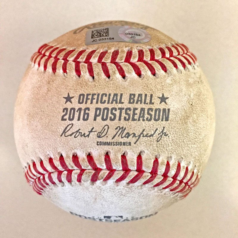 Your #postseason collection is missing a game-used ball from #ALCS Game 1. RT to win one now.