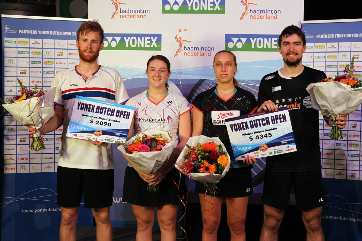 "Badminton Europe on Twitter ""Congrats Sara Thygesen Mathias"
