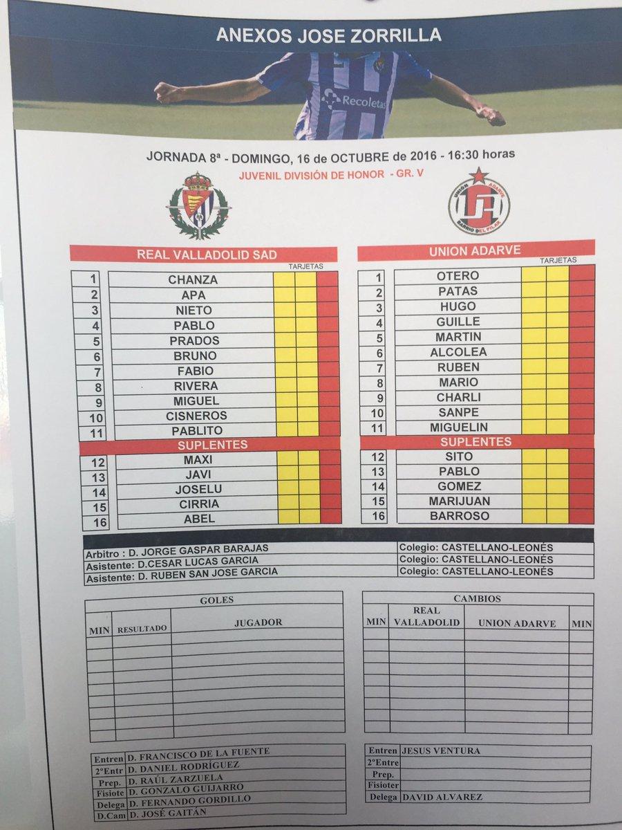 Real Valladolid Juvenil A - Temporada 2016/17 - División de Honor Grupo V - Página 6 Cu5UEC9XgAA1aeK