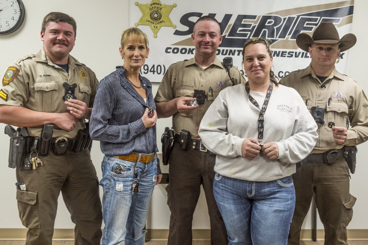 Cooke County Sheriff State Texas TX Police