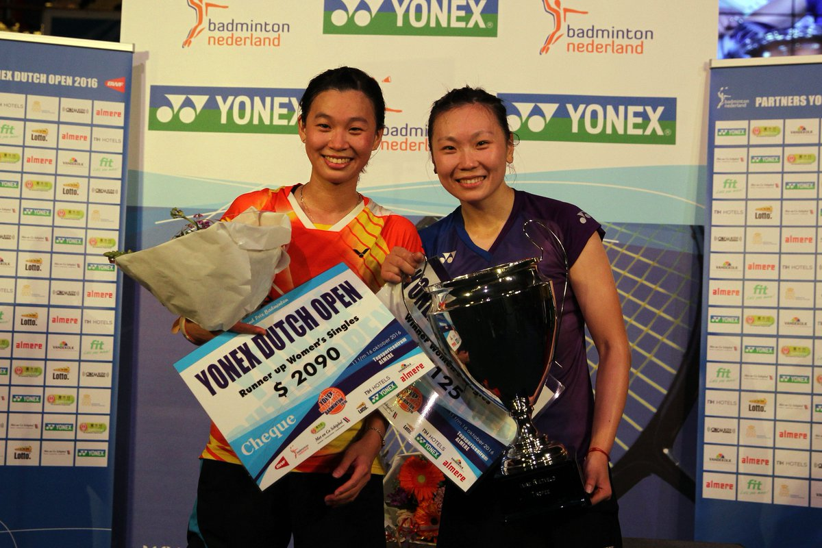 "Badminton Europe on Twitter ""Congrats Beiwen Zhang USA winner"