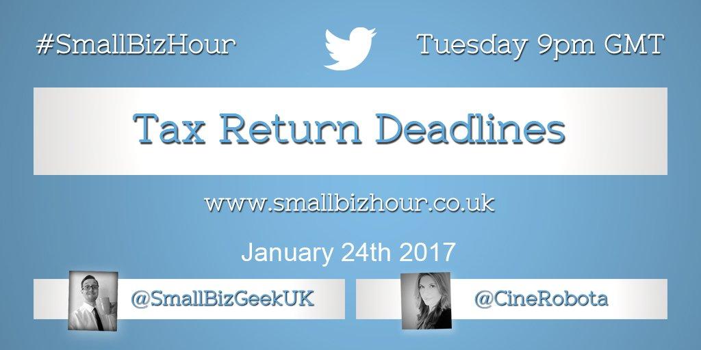 Thumbnail for Tax Return Deadlines
