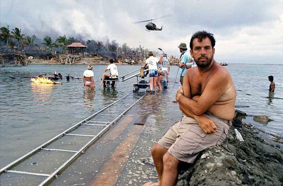 Francis Ford Coppola durante el rodaje de