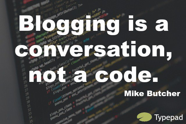 Speak with your followers through your blog #Blogging #Conversation https://t.co/neT64ovWm1
