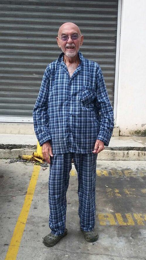 #Atención Señor perdido en Altamira, de nombre Adelso Borjas. Estamos buscando a su familia. Favor RT. https://t.co/DKdX7YslYq