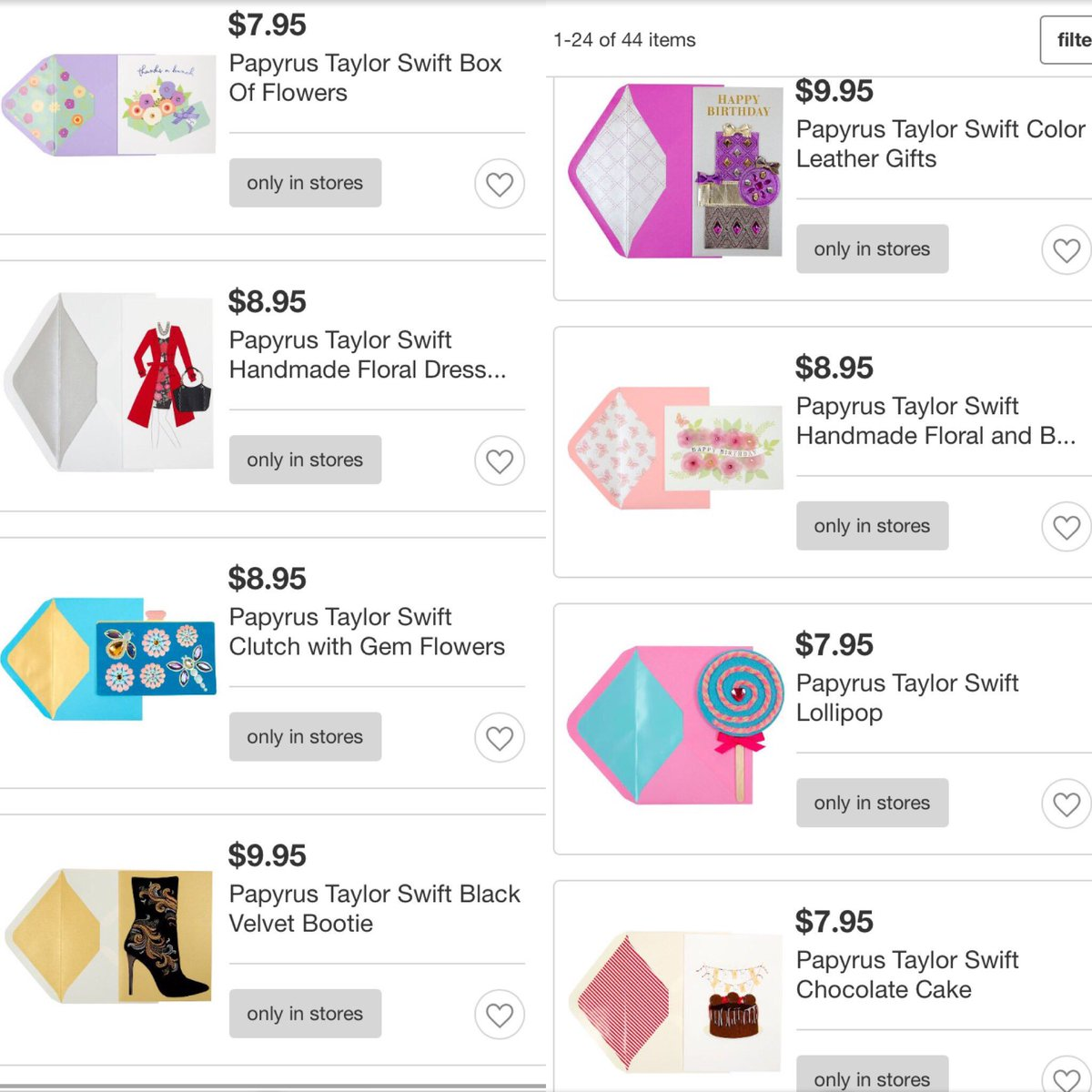 Taylor Swift News On Twitter Taylors Papyrus Greeting Cards Collection Is Now Available At Target Tco KqkIgDPjCO