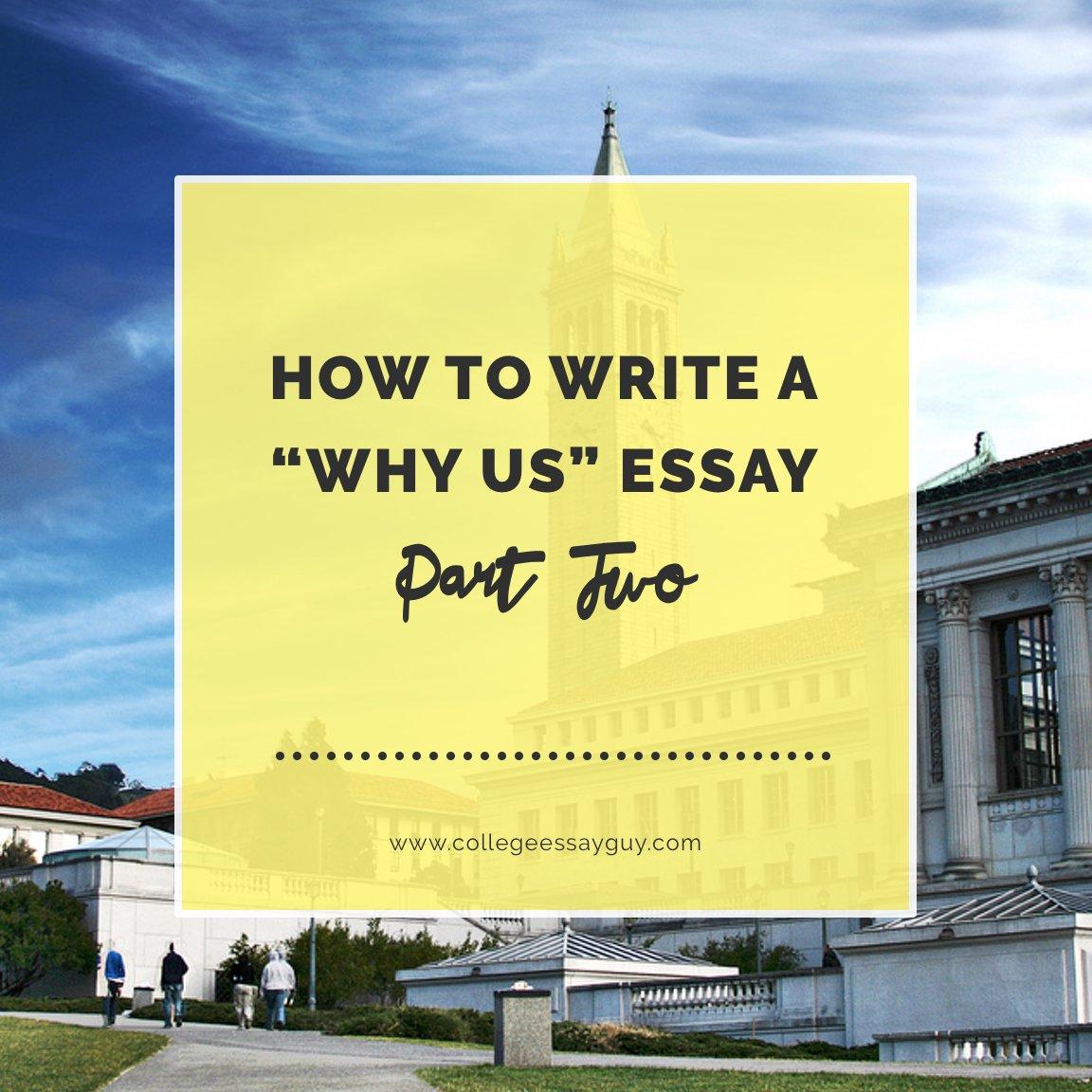 College essay helper guy why us