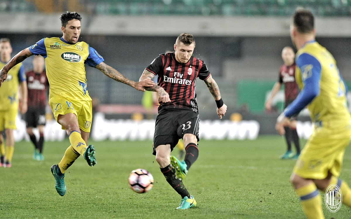 CHIEVO-MILAN 1-3 Video Highlights: Risultato da anti-Juve e sabato c'è Milan-Juve.