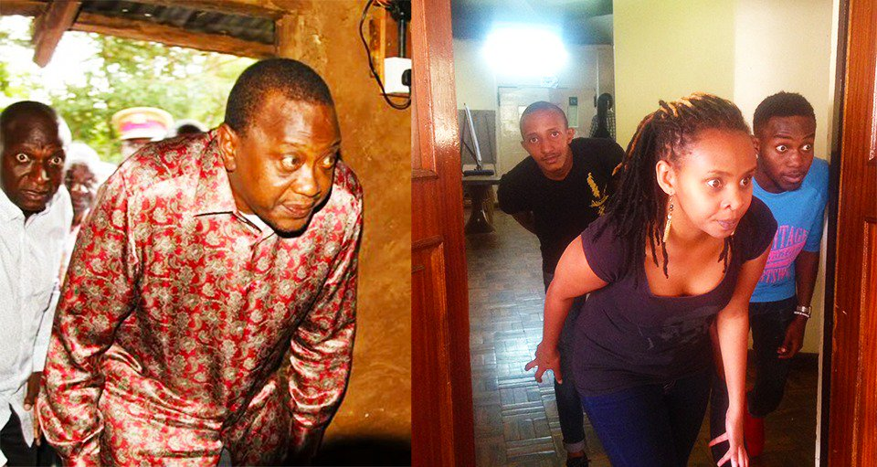 Told y'all I'd get my brown eyes on #UhuruChallenge https://t.co/Wu0k87ShuT