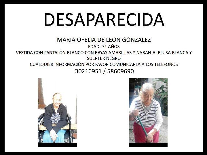 Me URGE que me ayuden para darle RT a esta imagen por favor! NECESITAN encontrar a esta señora! POR FAVOR! https://t.co/cSqfFs7ieu