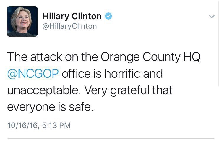 Two responses to the attack on #GOP headquarters: https://t.co/Qv07wt77bT