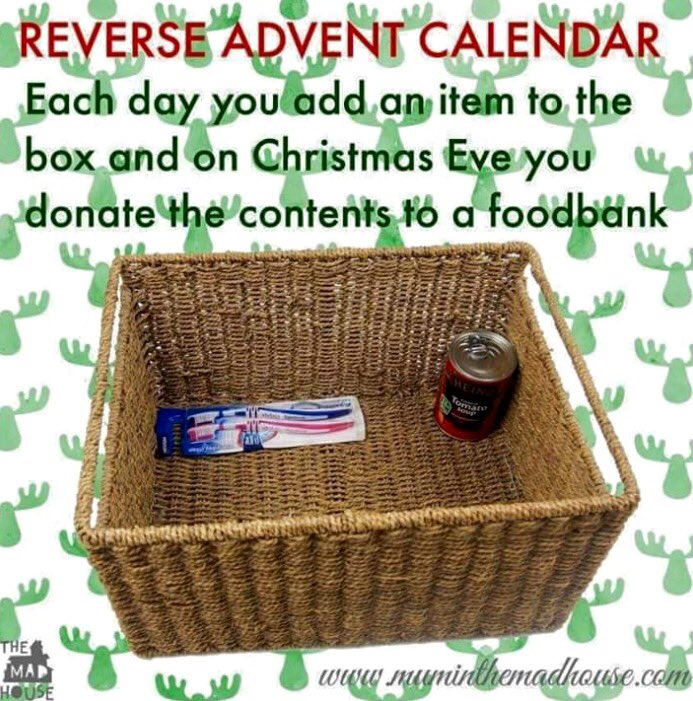 We're definitely going to be doing this during Christmas! Such a lovely idea. https://t.co/GqNCr0rcdE