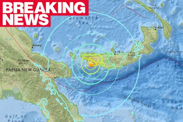 Terremoto oggi Papua Nuova Guinea M6.9 e Cina M6.4 (con Luna Piena)