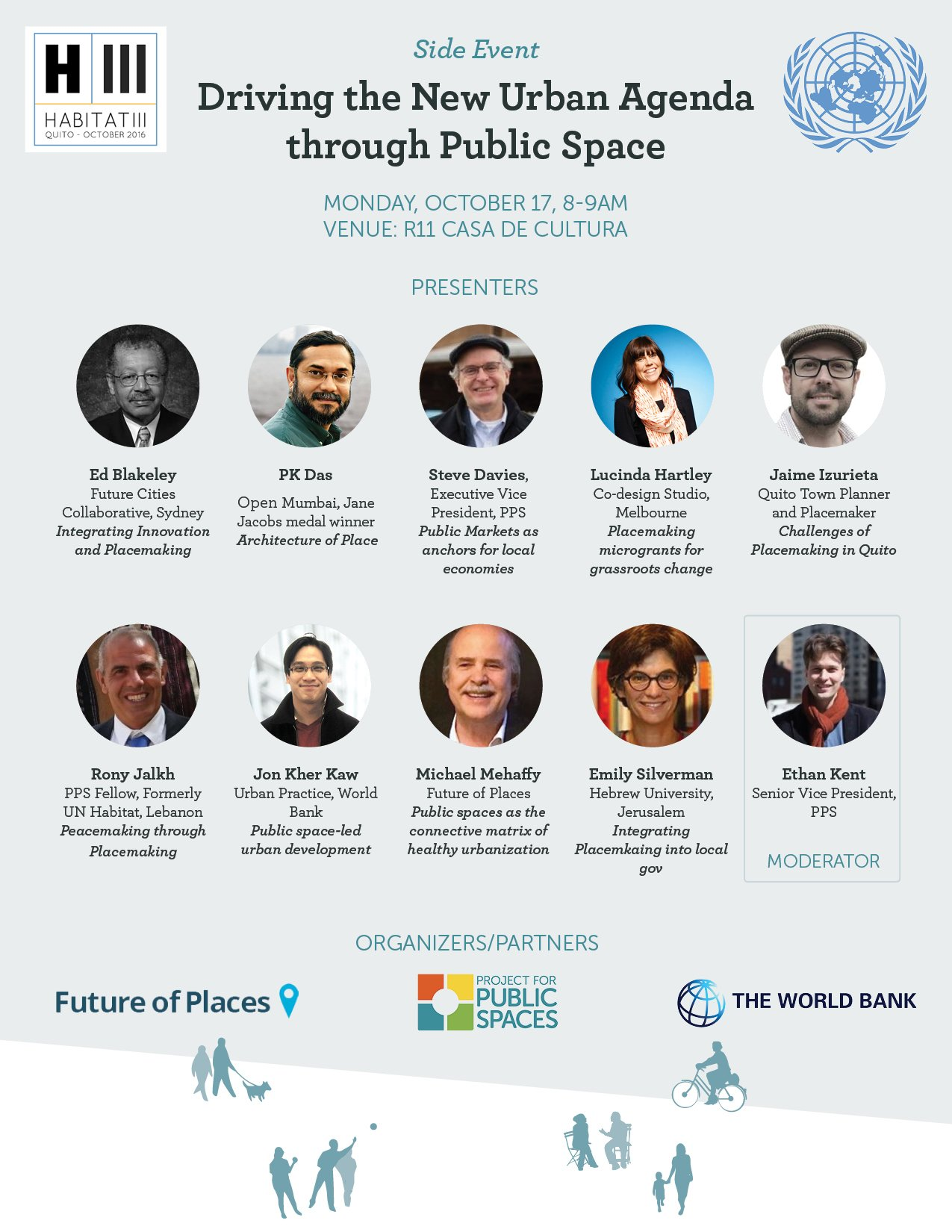 Follow #H3Places for our #Habitat3 side event w/ @lucindahartley @RonyJalkh @jonkherkaw @RonyJalkh @izurietavarea. #Placemaking #PublicSpace https://t.co/cV1psKMkQT