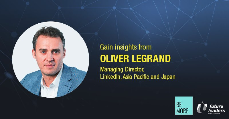 Learn from Oliver Legrand, MD of LinkedIn, APAC & Japan, as he discusses a freelancer economy at U FLS: https://t.co/1ZZC5slIq3 https://t.co/brPcBq3sHT