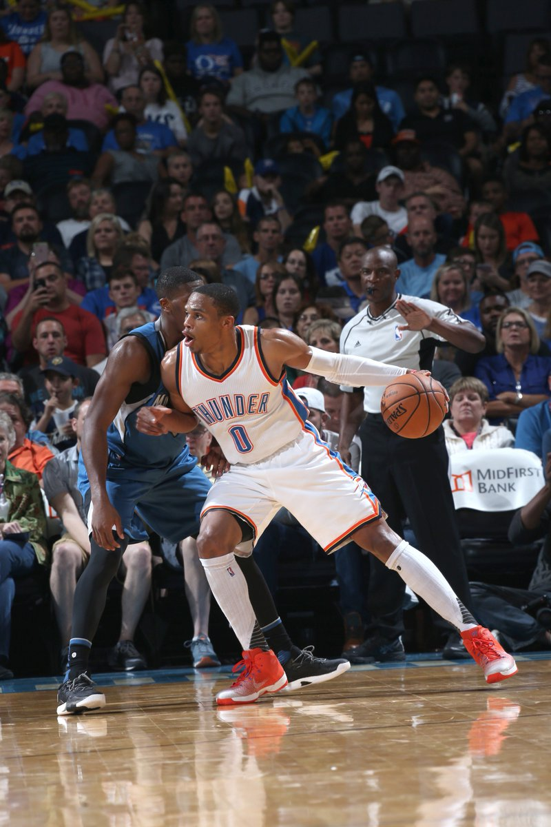 b29e3d8d674 Russell Westbrook hooping in this Air Jordan 31 PE (with what looks to be an