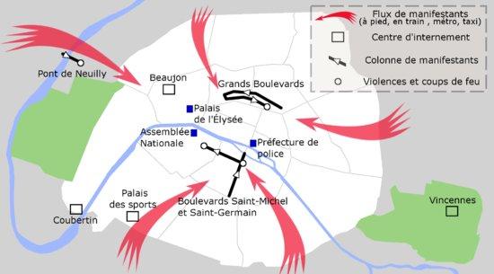 13)Ces lieux prédéfinis sont l'Etoile, le bouv St Germain et République puis les grands boulevards https://t.co/0MT8mTX99n