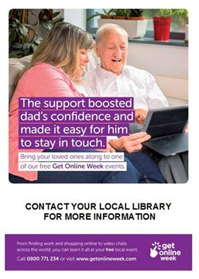 Help someone you know make the most of the Internet by bringing them along to one of our free Sandwell library events this week  #GOLW16. https://t.co/s708izo6fF