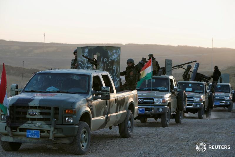 Армия Ирака и западная коалиция начали наступление на столицу ИГ