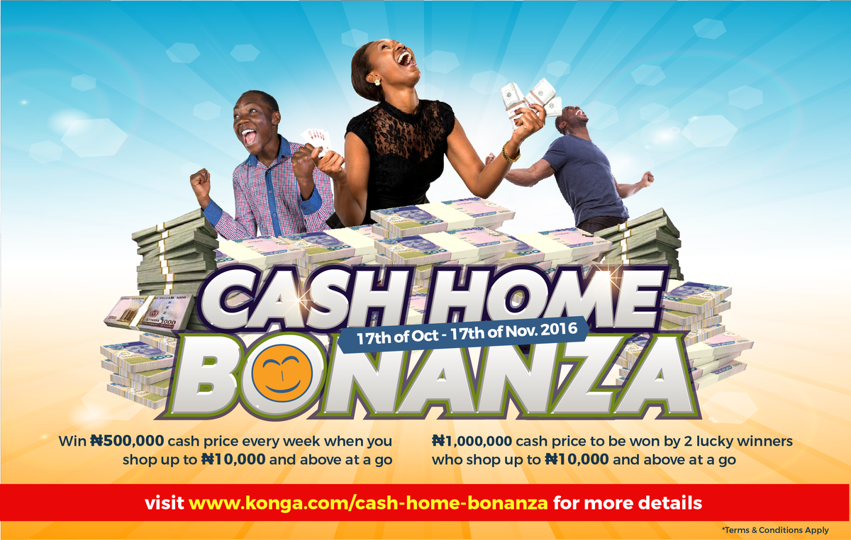 Image result for konga cash home bonanza image