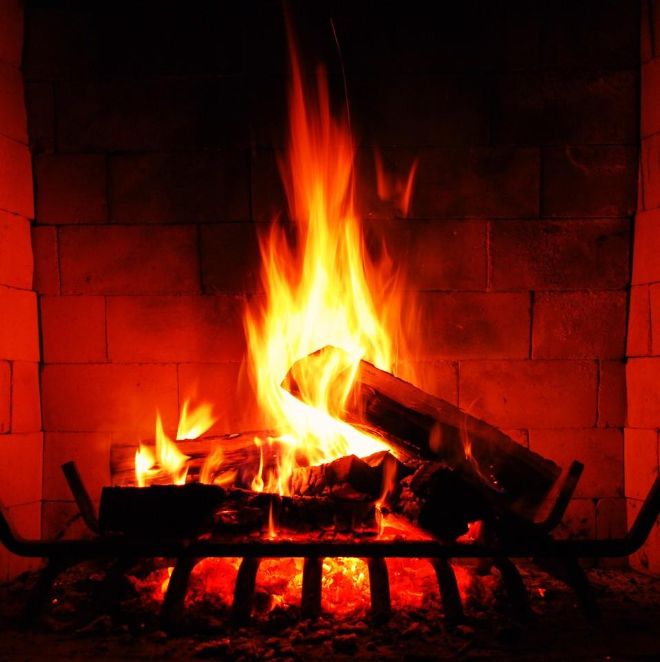 fireplace firewood flicker flame christmas - 958×960