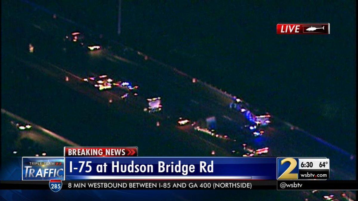 Traffic alert: avoid i-75 southbound before hudson bridge
