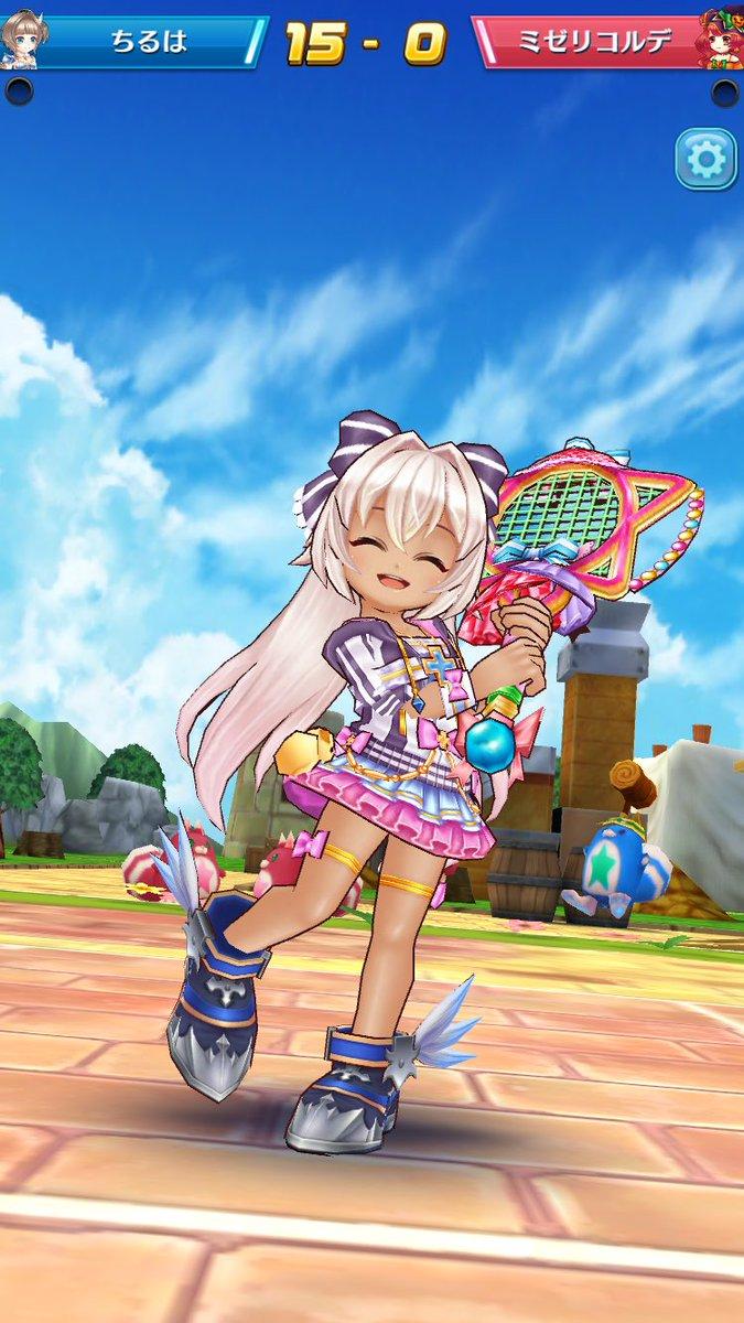 【白猫】白猫テニスにミレイユ、ヨシュア、ミゼリコルデが登場!可愛いスクショ画像まとめ、ミレイユとミゼリのパンツも確認!【プロジェクト】