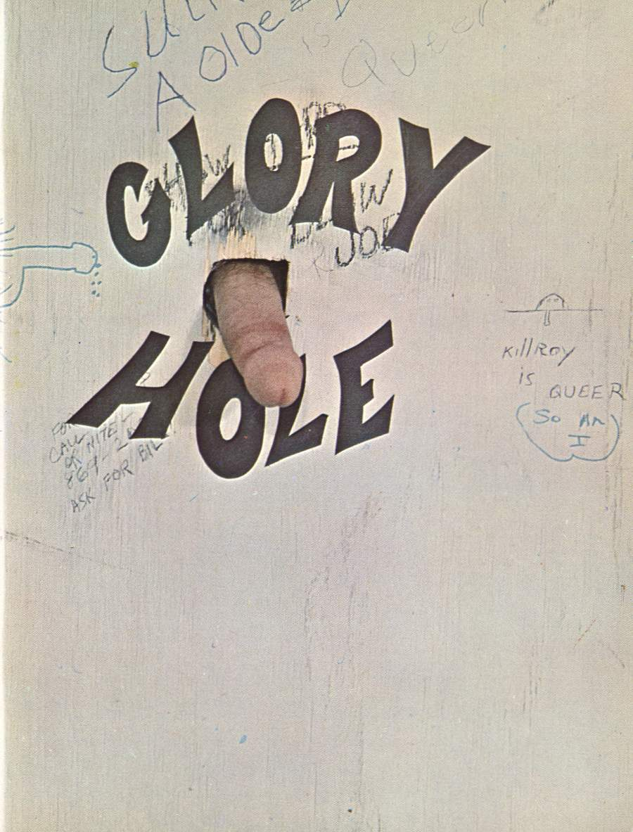 Penis hole in wall
