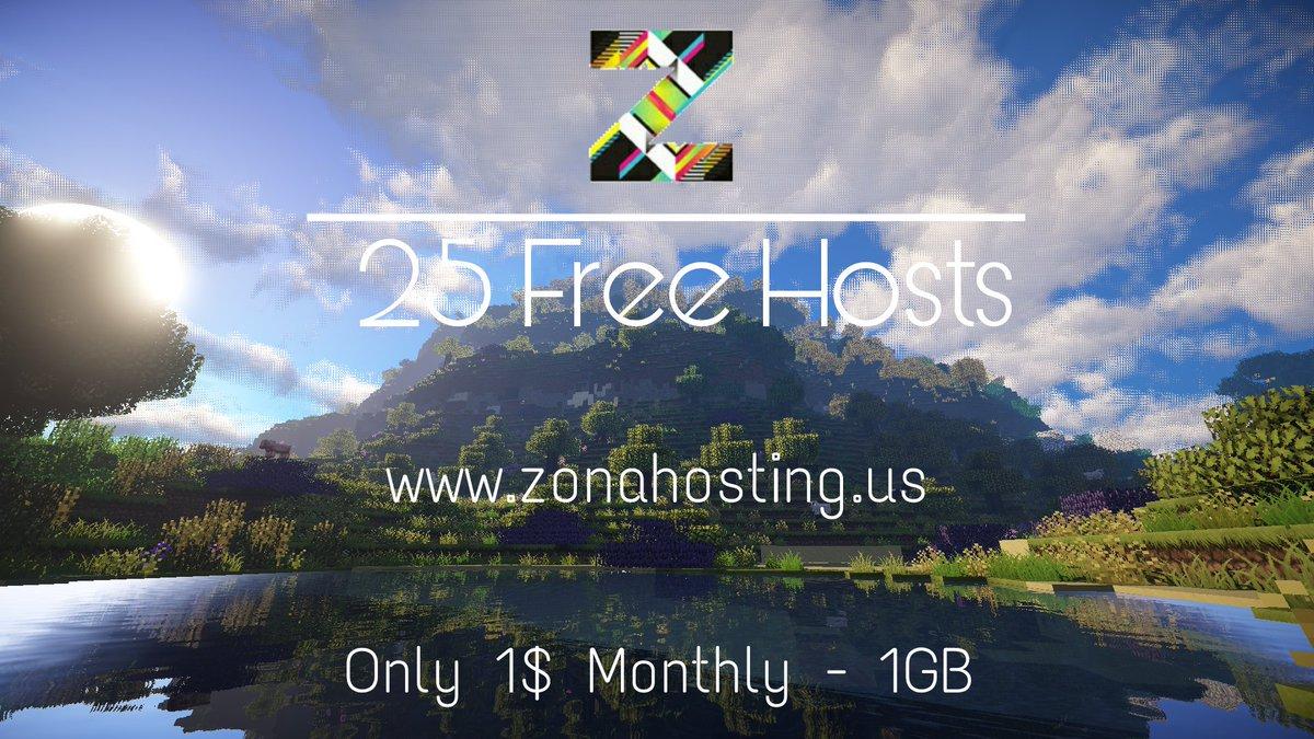 free minecraft host