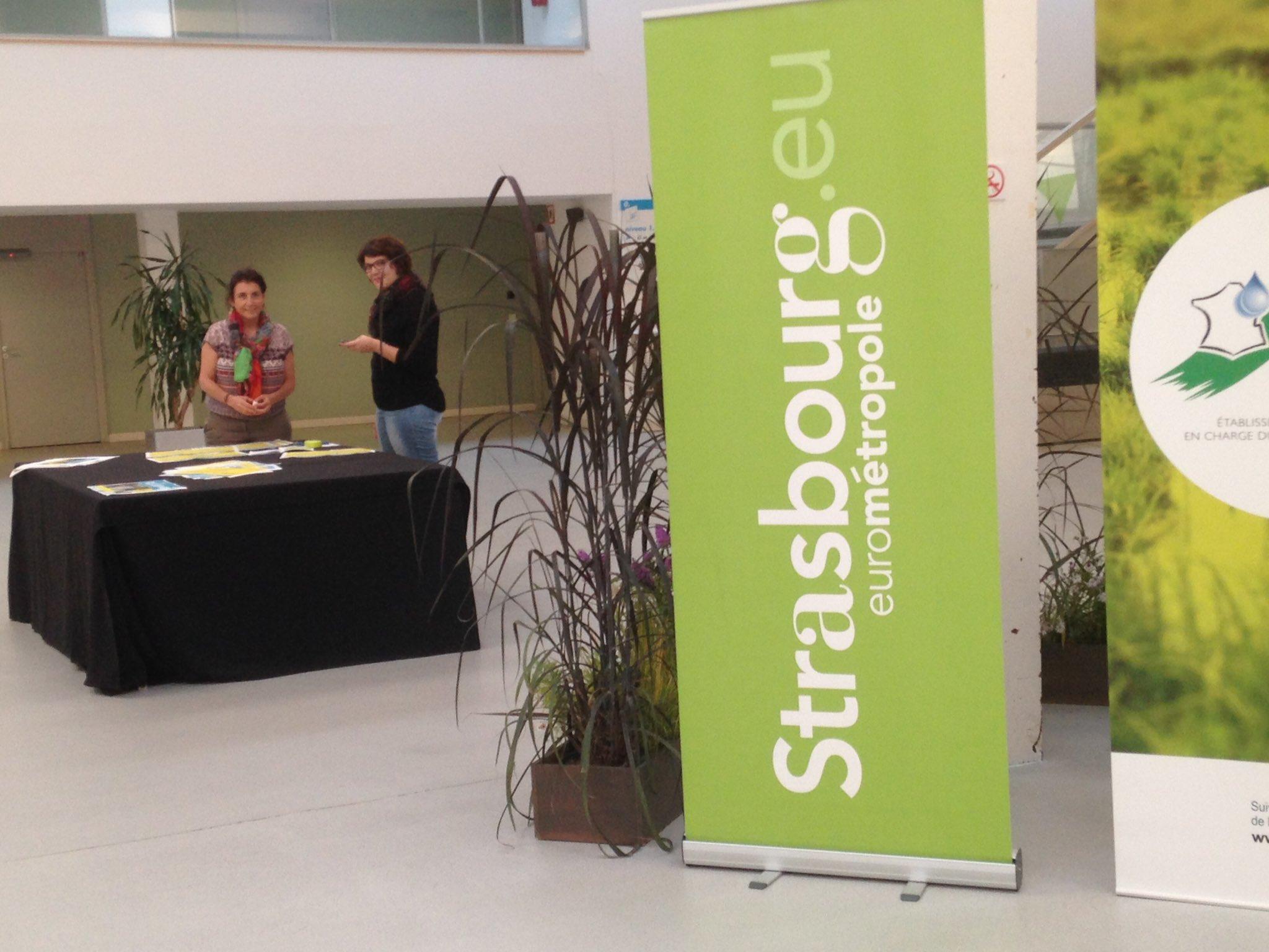 Le Forum #villeeteau se prépare. Rendez-vous demain 9h #Strasbourg https://t.co/zHAFiHW45S