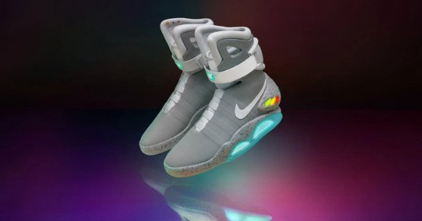 Nike will auction off its super limited edition 'Back to the Future' kicks for a good cause