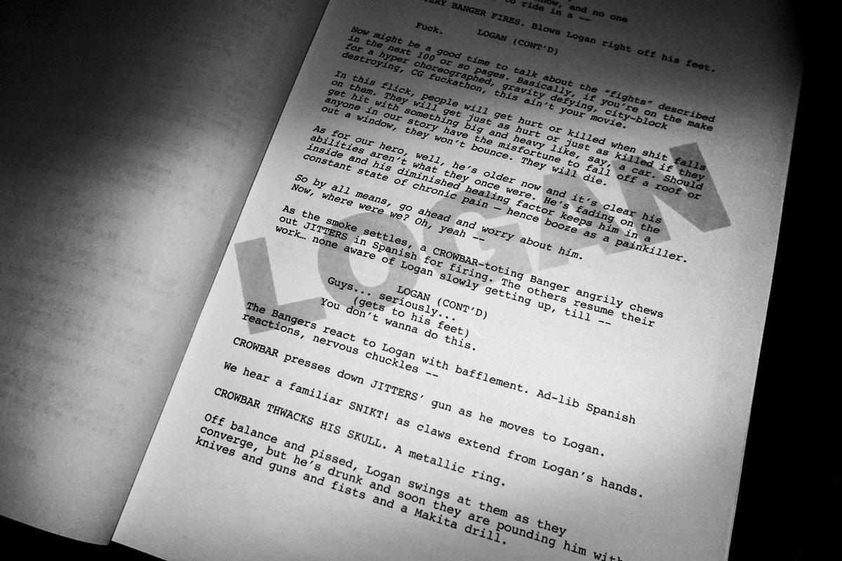 mangold on twitter page two of our screenplay