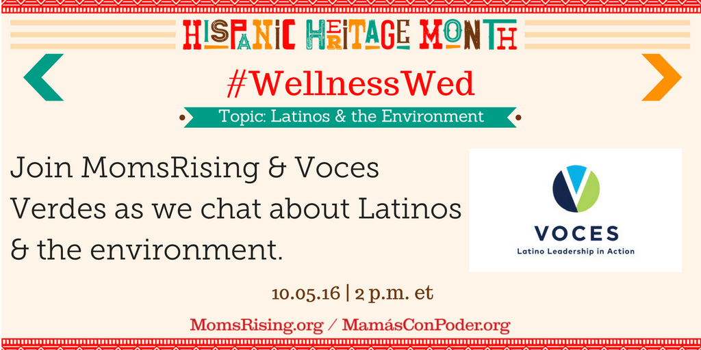 Thumbnail for #WellnessWed: Latinos & the Environment