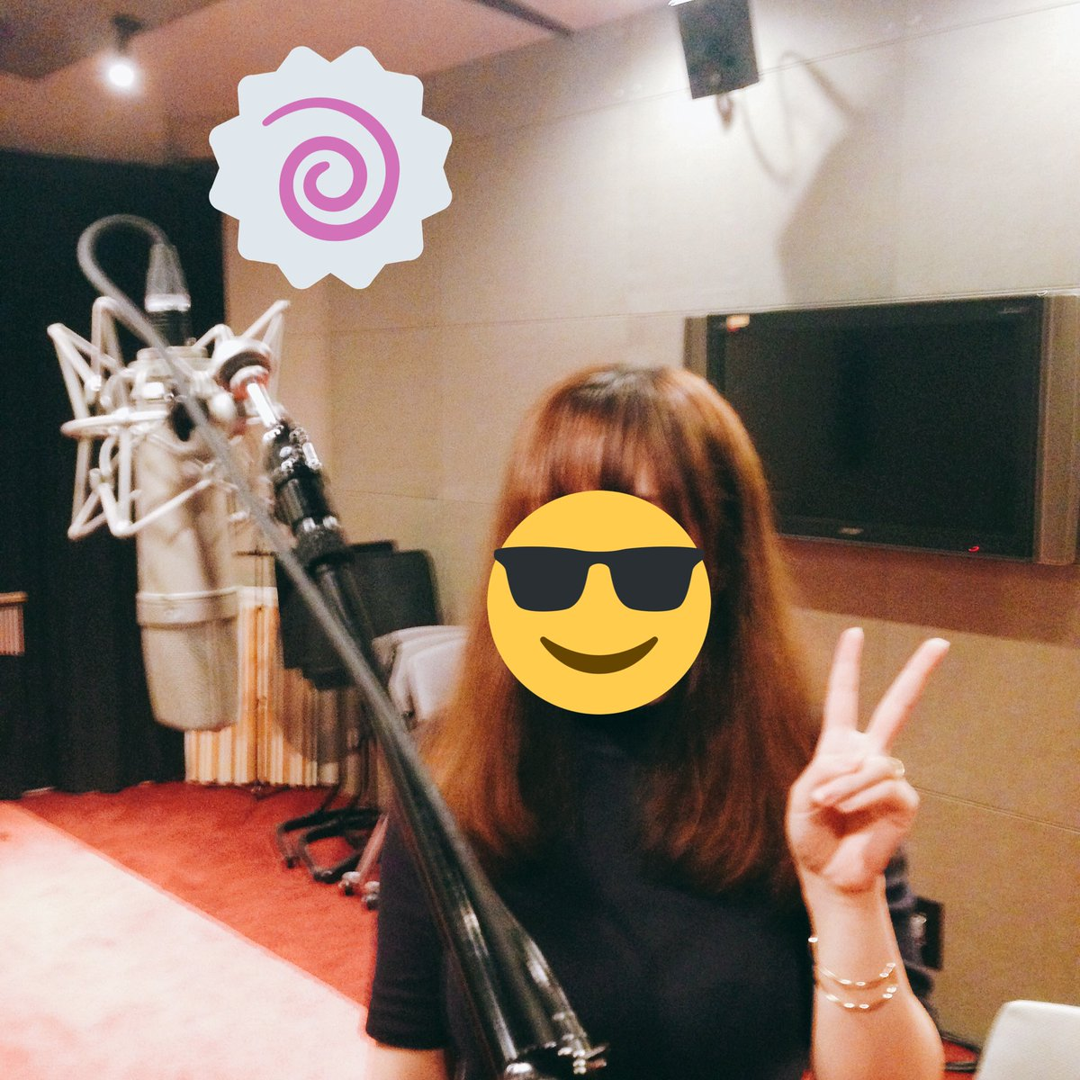きょうは東京のナムコさんのスタジオにて太鼓の達人の歌の収録でした