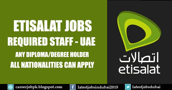 etisalatjobs hashtag on Twitter
