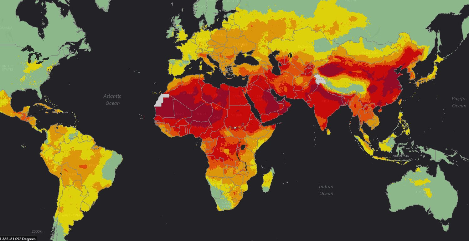 92% of us are breathing unsafe air. This map shows just how bad the problem is https://t.co/Z4polz8Gr2 https://t.co/ZCOnCzM6zb